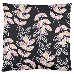 Winter Beautiful Foliage  Large Cushion Case (two Sides) by DanaeStudio