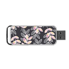 Winter Beautiful Foliage  Portable Usb Flash (two Sides)
