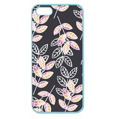 Winter Beautiful Foliage  Apple Seamless Iphone 5 Case (color) by DanaeStudio