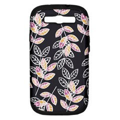 Winter Beautiful Foliage  Samsung Galaxy S Iii Hardshell Case (pc+silicone) by DanaeStudio