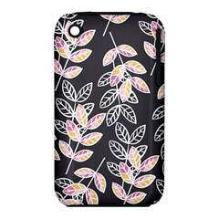 Winter Beautiful Foliage  Apple iPhone 3G/3GS Hardshell Case (PC+Silicone)