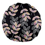Winter Beautiful Foliage  Large 18  Premium Round Cushions