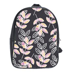 Winter Beautiful Foliage  School Bags (XL)