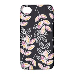 Winter Beautiful Foliage  Apple iPhone 4/4S Hardshell Case with Stand