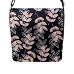 Winter Beautiful Foliage  Flap Messenger Bag (L)