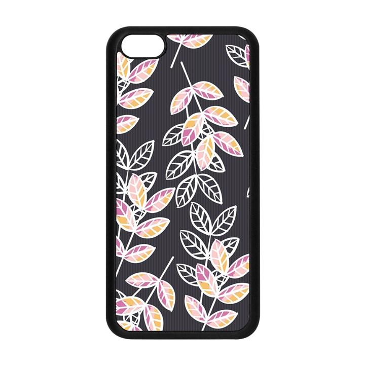 Winter Beautiful Foliage  Apple iPhone 5C Seamless Case (Black)