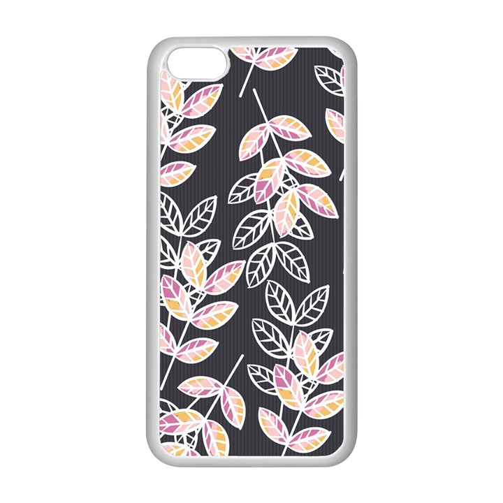 Winter Beautiful Foliage  Apple iPhone 5C Seamless Case (White)