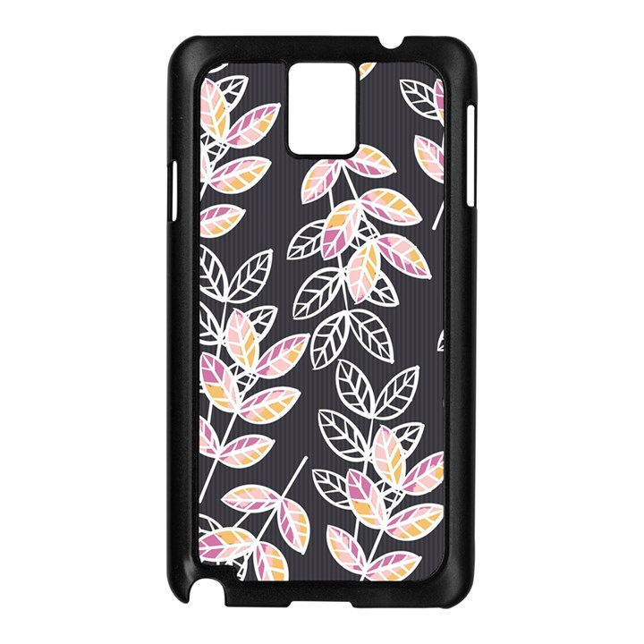 Winter Beautiful Foliage  Samsung Galaxy Note 3 N9005 Case (Black)