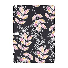 Winter Beautiful Foliage  Samsung Galaxy Note 10 1 (p600) Hardshell Case by DanaeStudio