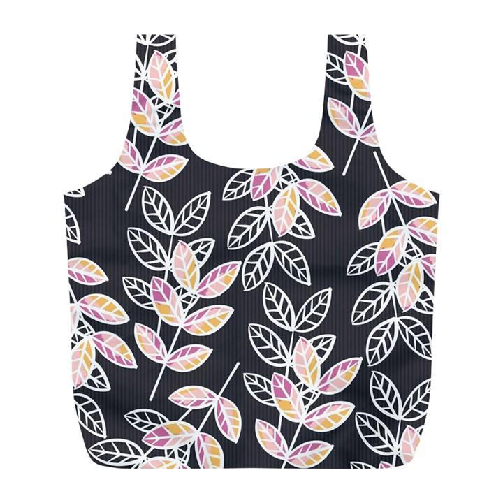 Winter Beautiful Foliage  Full Print Recycle Bags (L)