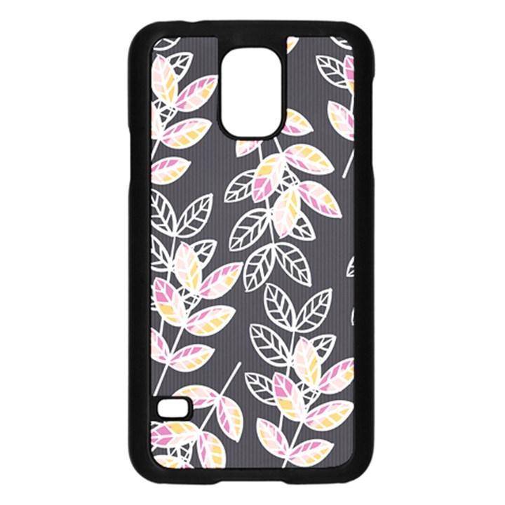 Winter Beautiful Foliage  Samsung Galaxy S5 Case (Black)