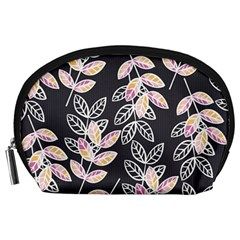 Winter Beautiful Foliage  Accessory Pouches (Large)