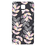 Winter Beautiful Foliage  Galaxy Note 4 Back Case Front