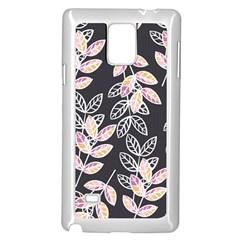 Winter Beautiful Foliage  Samsung Galaxy Note 4 Case (white)