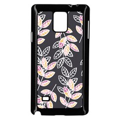 Winter Beautiful Foliage  Samsung Galaxy Note 4 Case (black) by DanaeStudio