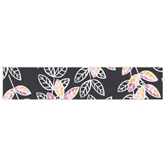 Winter Beautiful Foliage  Flano Scarf (small)  by DanaeStudio