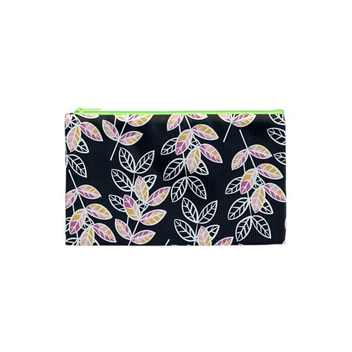 Winter Beautiful Foliage  Cosmetic Bag (XS)