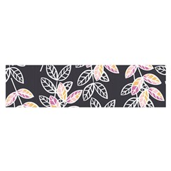 Winter Beautiful Foliage  Satin Scarf (Oblong)