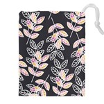 Winter Beautiful Foliage  Drawstring Pouches (XXL)