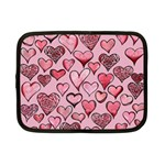 Artistic Valentine Hearts Netbook Case (Small)