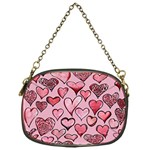 Artistic Valentine Hearts Chain Purses (One Side)