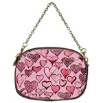 Artistic Valentine Hearts Chain Purses (Two Sides)  Back