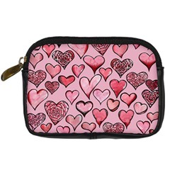 Artistic Valentine Hearts Digital Camera Cases