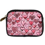 Artistic Valentine Hearts Digital Camera Cases Front
