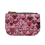 Artistic Valentine Hearts Mini Coin Purses