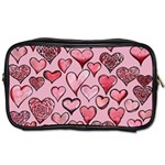 Artistic Valentine Hearts Toiletries Bags