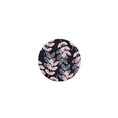 Winter Beautiful Foliage  1  Mini Buttons by DanaeStudio