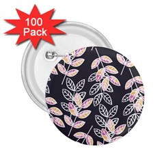 Winter Beautiful Foliage  2 25  Buttons (100 Pack)  by DanaeStudio