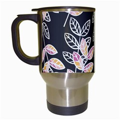 Winter Beautiful Foliage  Travel Mugs (white)