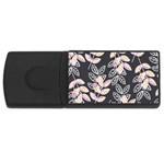 Winter Beautiful Foliage  USB Flash Drive Rectangular (4 GB)  Front