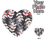 Winter Beautiful Foliage  Playing Cards 54 (Heart)  Front - Heart6