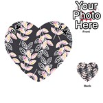 Winter Beautiful Foliage  Playing Cards 54 (Heart)  Front - Club8