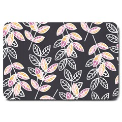Winter Beautiful Foliage  Large Doormat