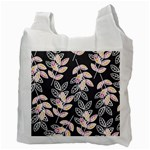 Winter Beautiful Foliage  Recycle Bag (Two Side)  Back