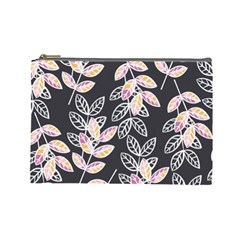 Winter Beautiful Foliage  Cosmetic Bag (large)  by DanaeStudio