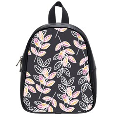 Winter Beautiful Foliage  School Bags (small)  by DanaeStudio