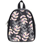 Winter Beautiful Foliage  School Bags (Small)  Front