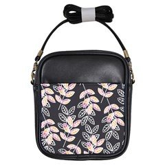Winter Beautiful Foliage  Girls Sling Bags by DanaeStudio
