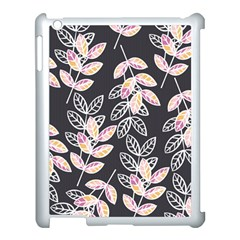 Winter Beautiful Foliage  Apple Ipad 3/4 Case (white) by DanaeStudio