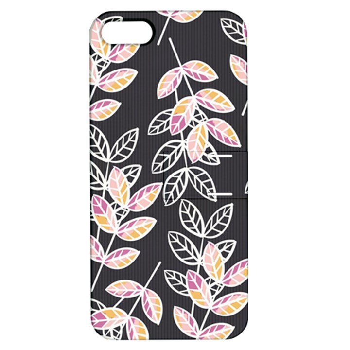 Winter Beautiful Foliage  Apple iPhone 5 Hardshell Case with Stand
