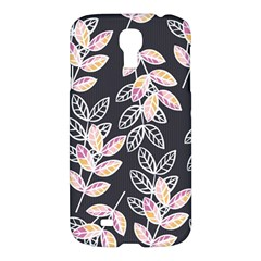 Winter Beautiful Foliage  Samsung Galaxy S4 I9500/i9505 Hardshell Case by DanaeStudio