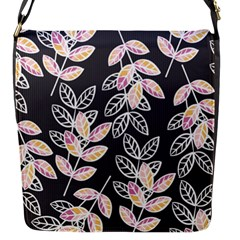 Winter Beautiful Foliage  Flap Messenger Bag (s) by DanaeStudio
