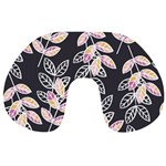 Winter Beautiful Foliage  Travel Neck Pillows Back
