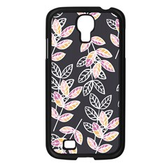Winter Beautiful Foliage  Samsung Galaxy S4 I9500/ I9505 Case (black) by DanaeStudio