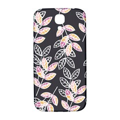Winter Beautiful Foliage  Samsung Galaxy S4 I9500/i9505  Hardshell Back Case by DanaeStudio