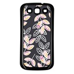 Winter Beautiful Foliage  Samsung Galaxy S3 Back Case (Black) Front